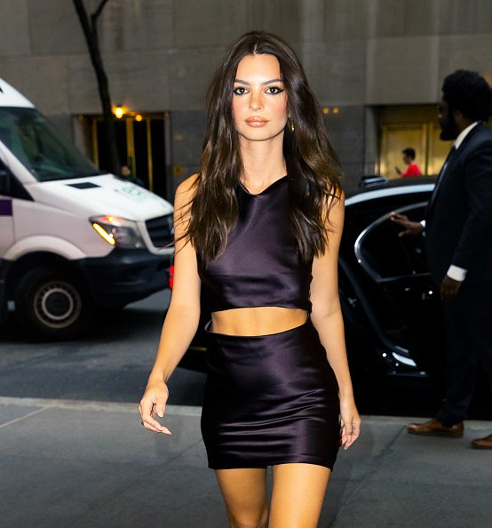 Emily Ratajkowski on March 10, 2020 in New York City. | Photo: Getty Images