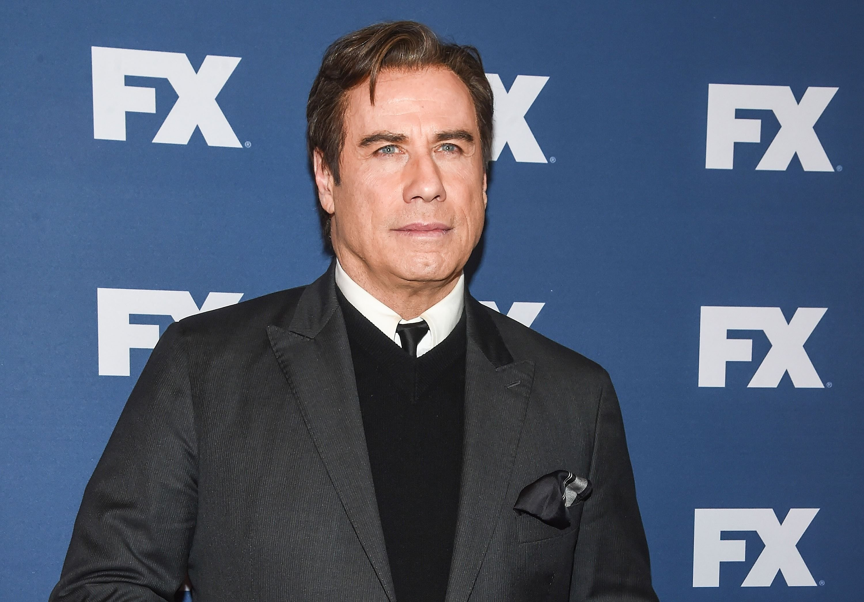 """John Travolta attheUpfront Screening of """"The People v. O.J. Simpson: American Crime Story"""" on March 30, 2016, in New York City 