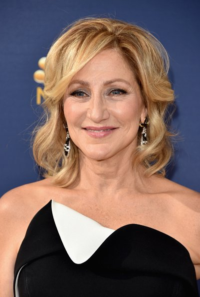 Edie Falco at the 70th Emmy Awards in Los Angeles.| Photo: Getty Images.