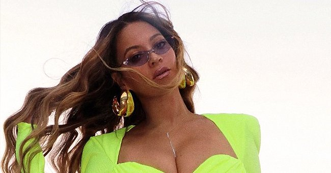 Beyoncé Looks Stunning Showing Her Flawless Figure in a Neon Outfit – See Her Glowing Look