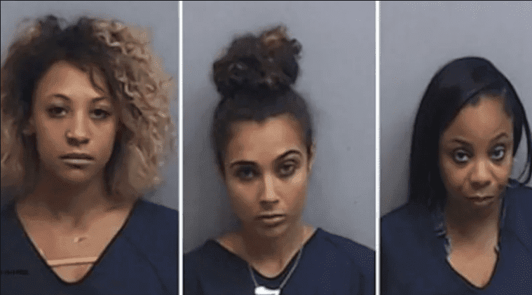 Asia'h Sharrell Epperson, Brittany Marie Lucio and Erica Walker | Photo: Fulton County Ga. Jail