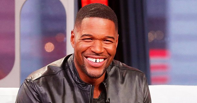 See How Michael Strahan Plans to React When a Boy Begins Talking to Her Daughters (Photo)