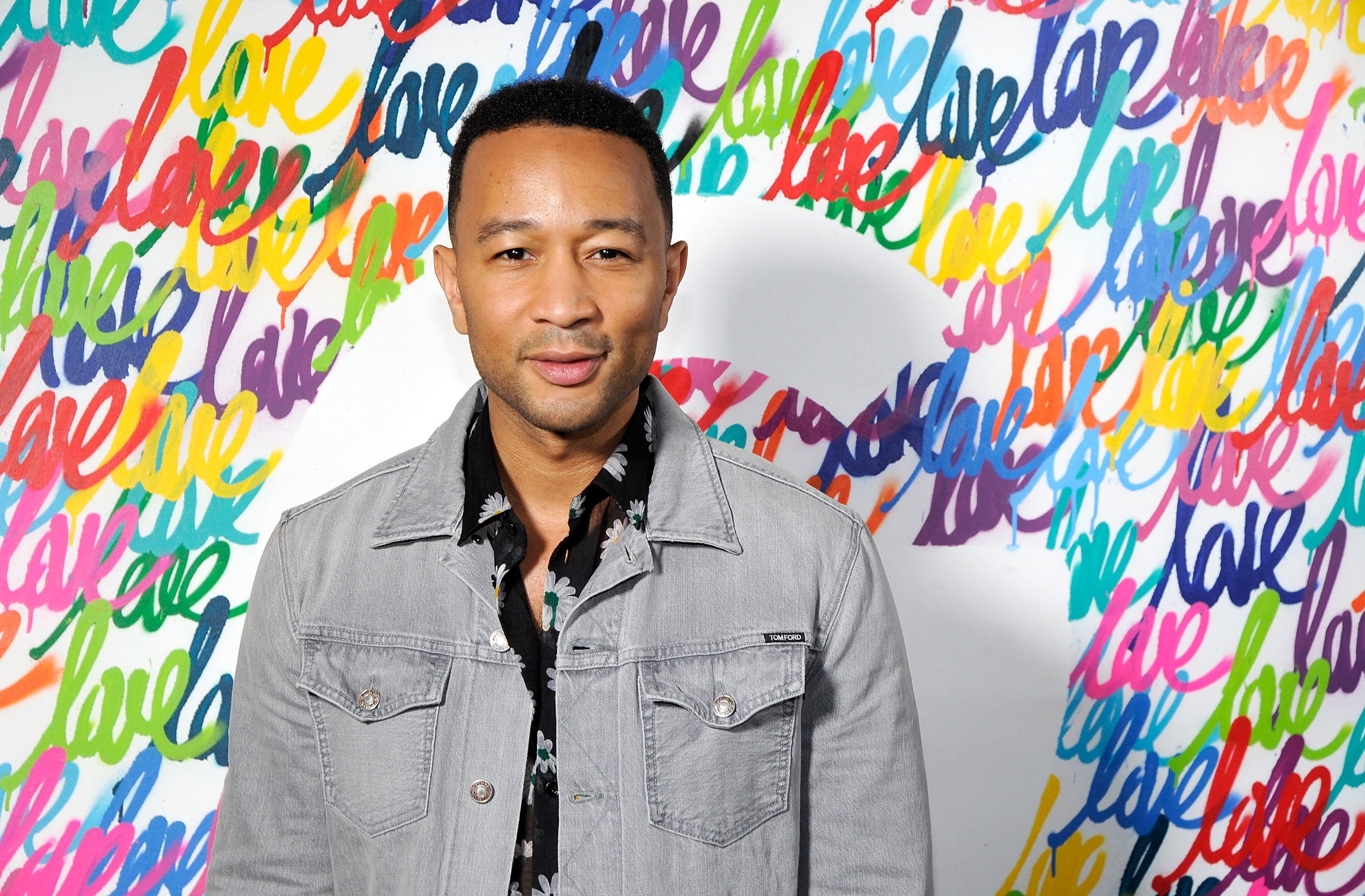 "John Legend attends the John Legend and Google premiere of his new music video ""A Good Night"" on April 5, 2018, in Los Angeles, California. 