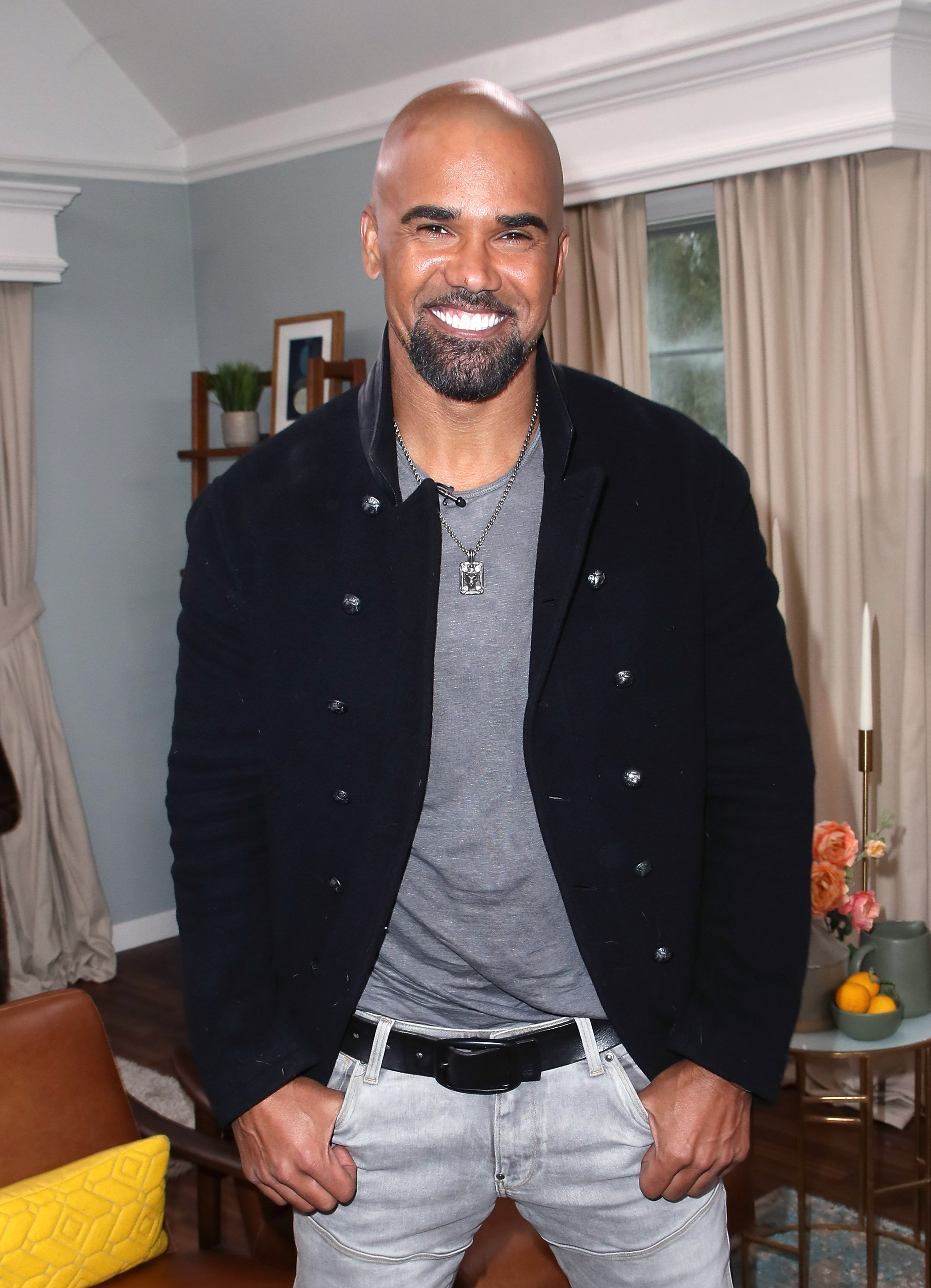 """Shemar Moore visits Hallmark's """"Home & Family"""" on February 27, 2018, in Universal City, California.   Source: Getty Images."""