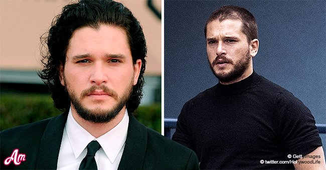 Game Of Thrones Star Kit Harington Debuts Buzz Cut And Looks Almost Unrecognizable