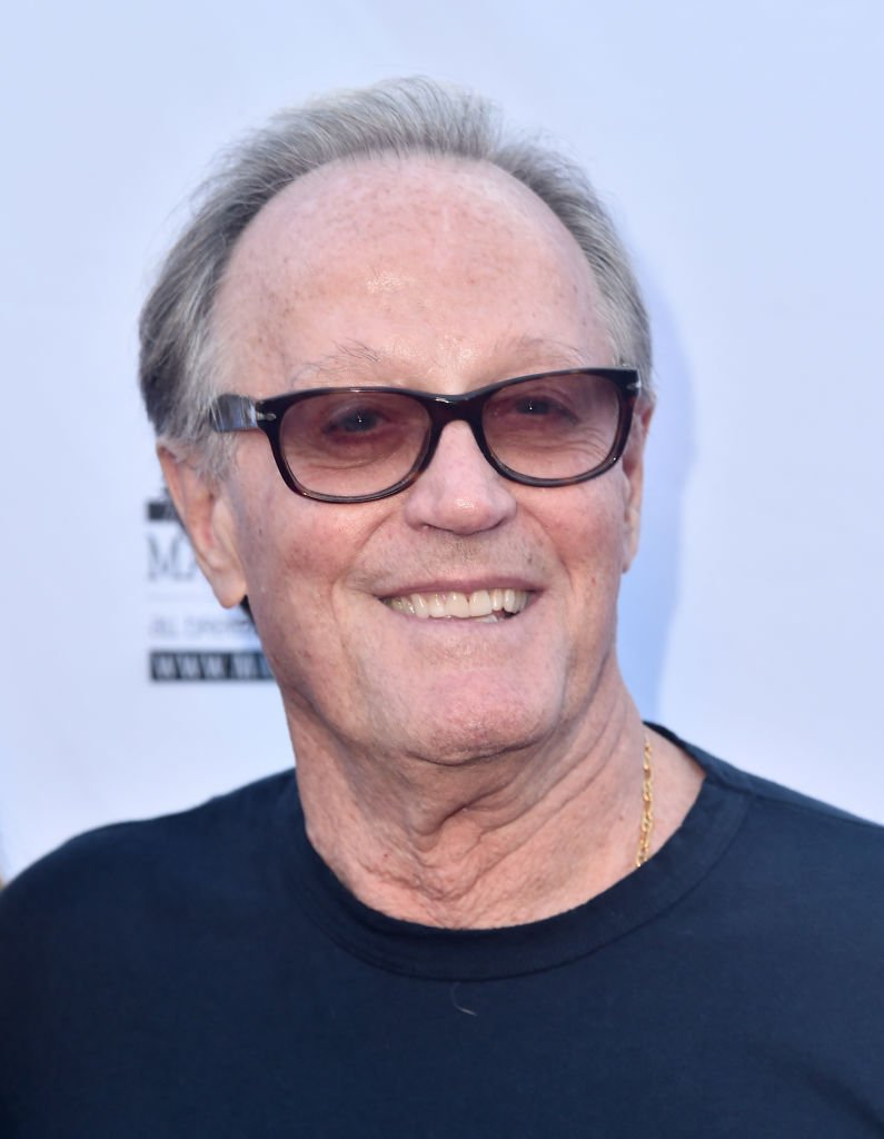 """Actor Peter Fonda attends the premiere of Sony Pictures Classics' """"Boundries"""" at American Cinematheque's Egyptian Theatre 