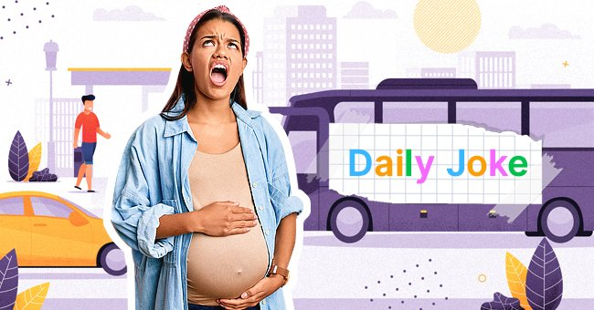 Daily Joke: Pregnant Woman Sues a Man for Laughing in the Bus