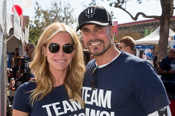 "Don Diamont and Cindy Ambuehl attend Nanci Ryder's ""Team Nanci"" participates in the 15th Annual LA County Walk to Defeat ALS at Exposition Park in Los Angeles, California. 