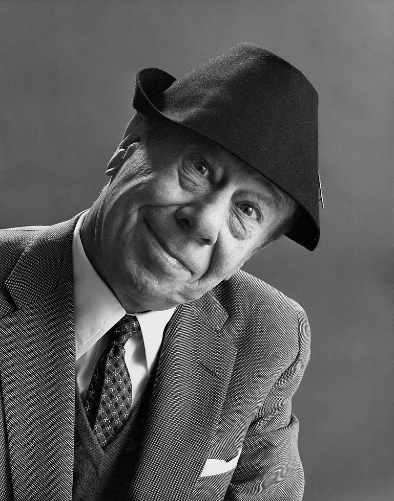 Late Bert Lahr, posed for a portrait while wearing a felt cap on February 01, 1963   Photo: Getty Images
