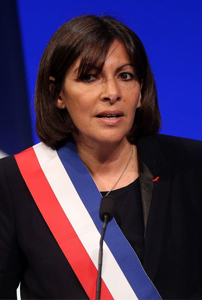 Anne Hidaldo, la Maire de Paris, avril 2014. Photo : Getty Images