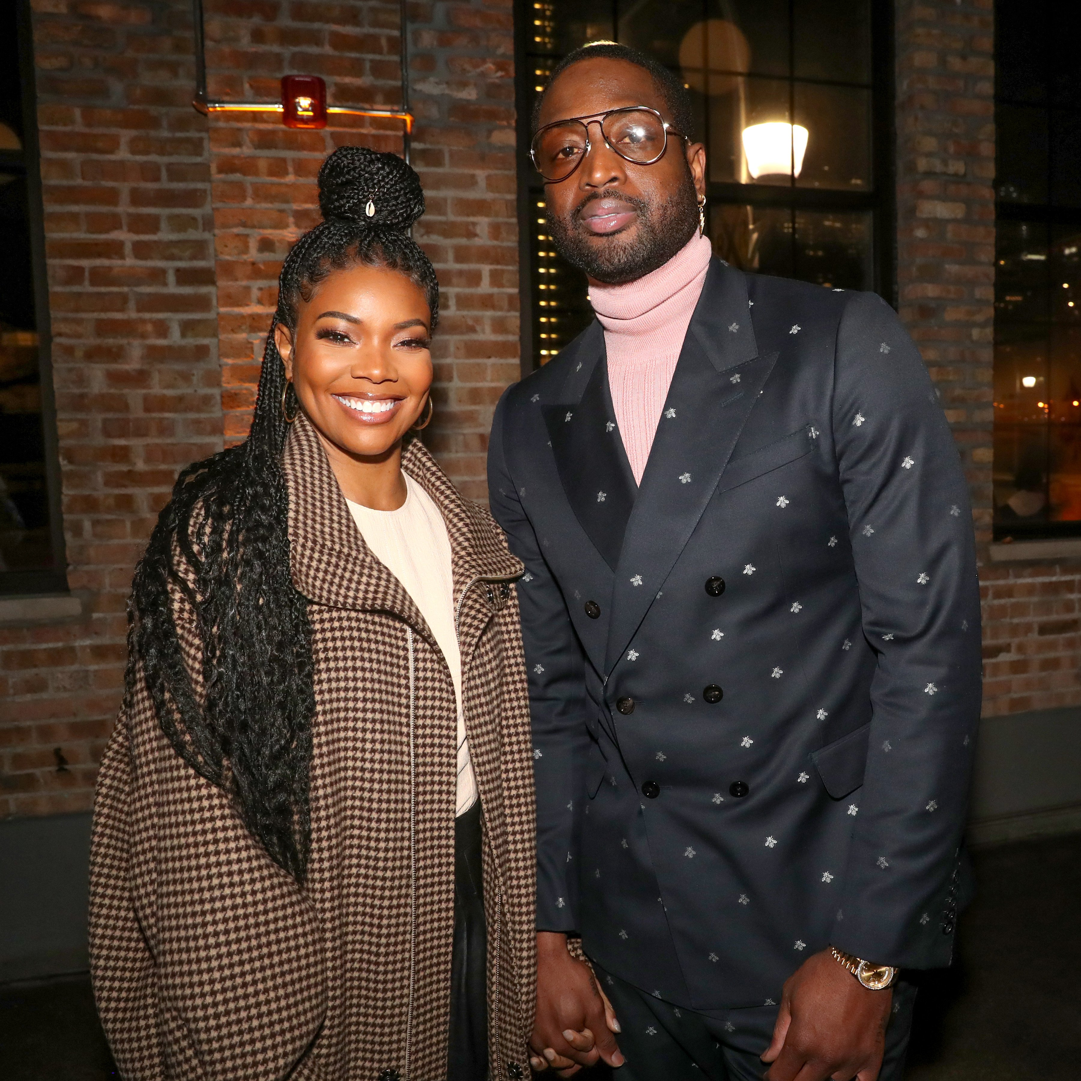 Gabrielle Union and Dwyane Wade attend Stance Spades at NBA All-Star 2020 on February 15, 2020. | Photo: Getty Images
