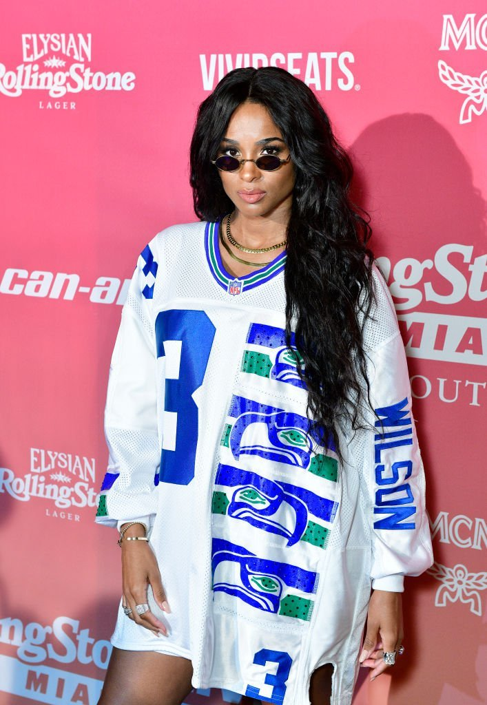 Ciara attends the MCM x Rolling Pre-Super Bowl Event at SLS Miami | Photo: Getty Images
