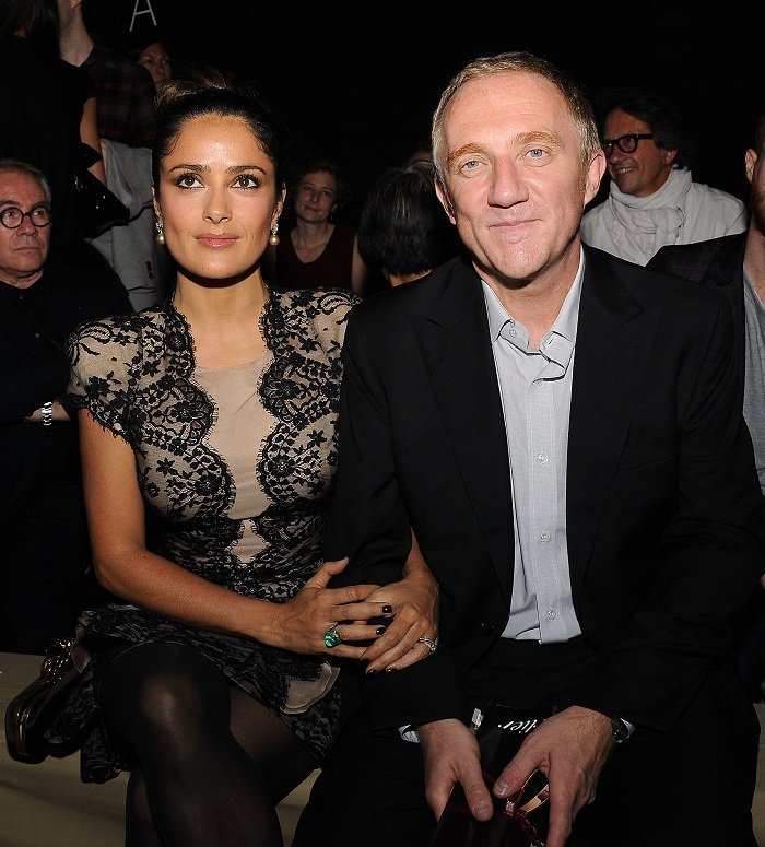 Salma Hayek and Francois-Henri Pinault I Image: Getty Images
