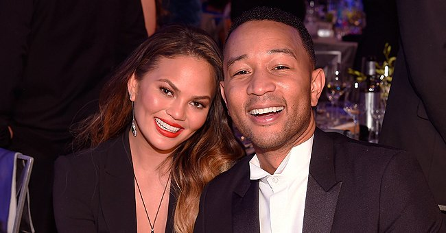 Chrissy Teigen and John Legend's Kids Luna and Miles Look Just like Them in Adorable New Photos