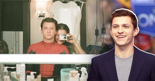 Tom Holland shares photo to celebrate Zendaya on her birthday | Photo: instagram.com/tomholland2013, Getty Images