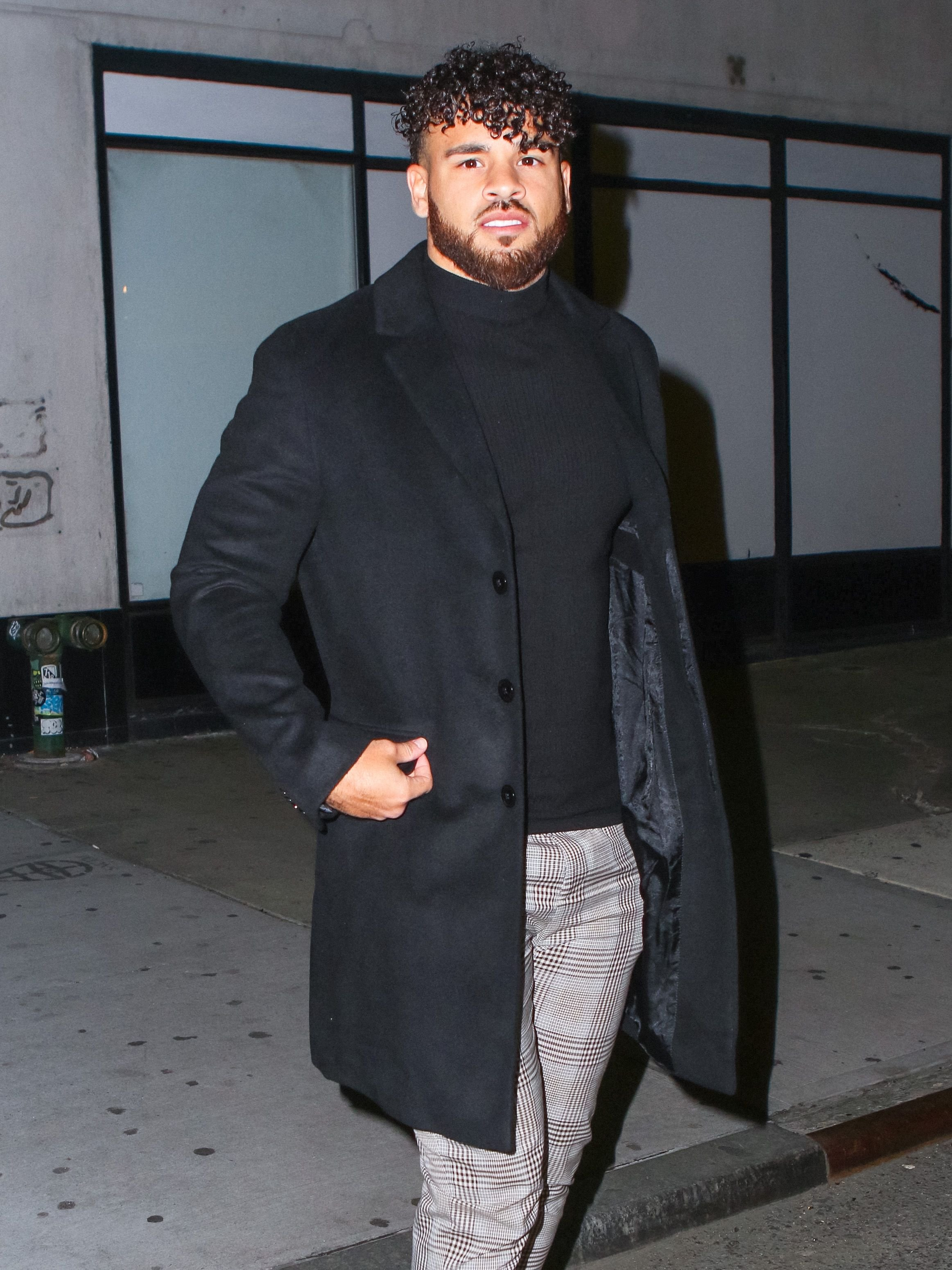 Cory Wharton spotted on March 05, 2020 in New York City. | Source: Getty Images