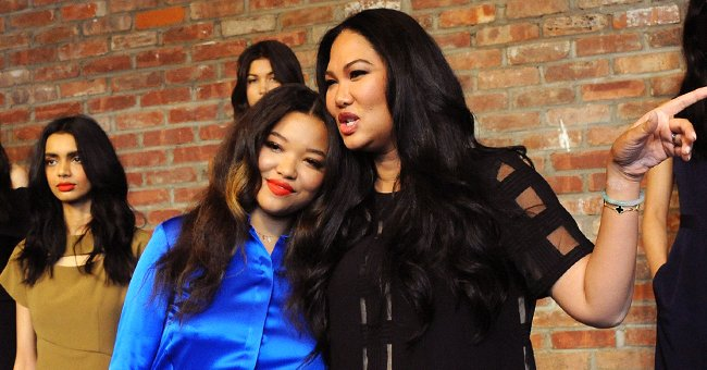 Kimora Lee Simmons' Daughter Ming Shows off Her Curves Posing in a Stylish Black Bikini (Photo)