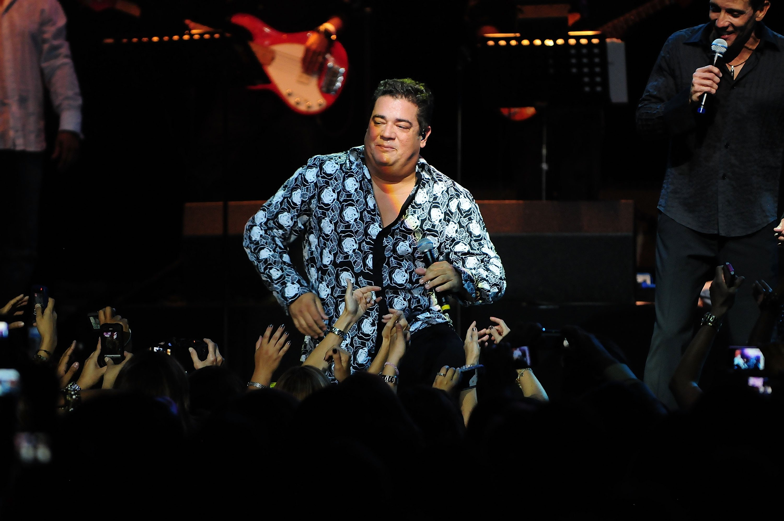 Ray Reyes performs at James L Knight Center on July 23, 2011 in Miami, Florida | Photo: Getty Images