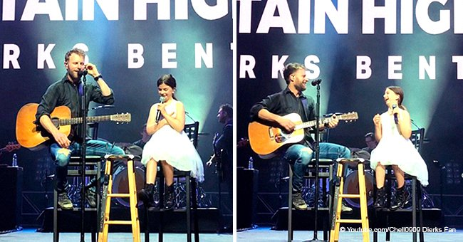 Dierks Bentley Sings with His Little Daughter on Stage and Their Duet Is Pure Gold