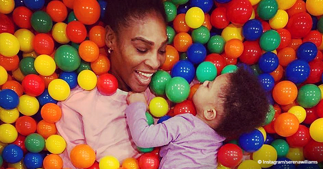 Serena Williams' Daughter Olympia Displays Perfect Set of Teeth, Smiling Adorably in Precious Pic