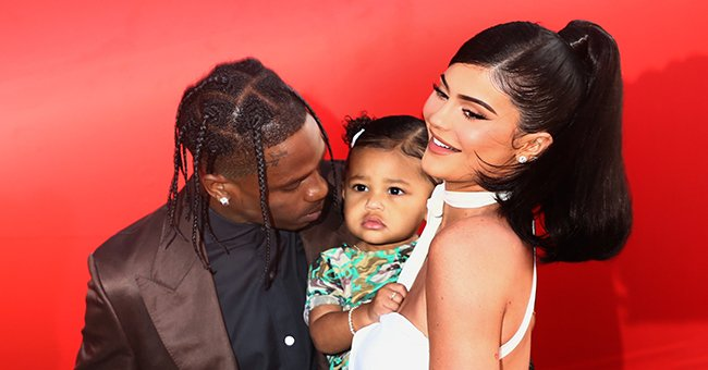"""Travis Scott and Kylie Jenner attend the Travis Scott: """"Look Mom I Can Fly"""" Los Angeles Premiere, August 2019   Source: Getty Images"""