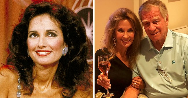 Susan Lucci, 74,Looks Youthful In a Black Top & Mini Skirt with Husband Helmut at Palm Beach