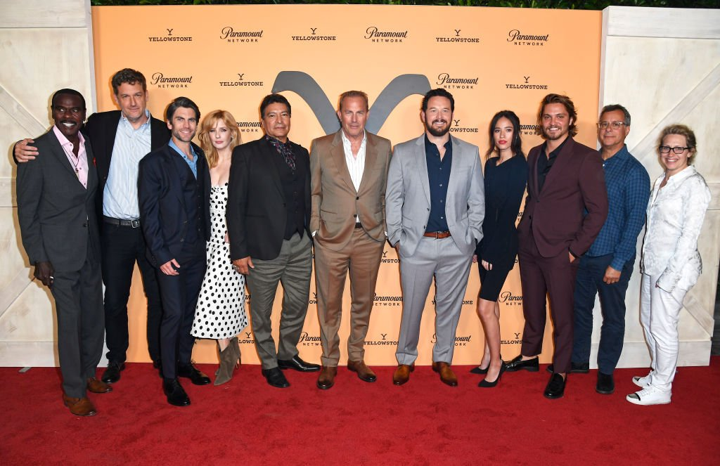 "The cast of ""Yellowstone"" attend the Season 2 Premiere Party at Lombardi House on May 30, 2019 in Los Angeles, California. 