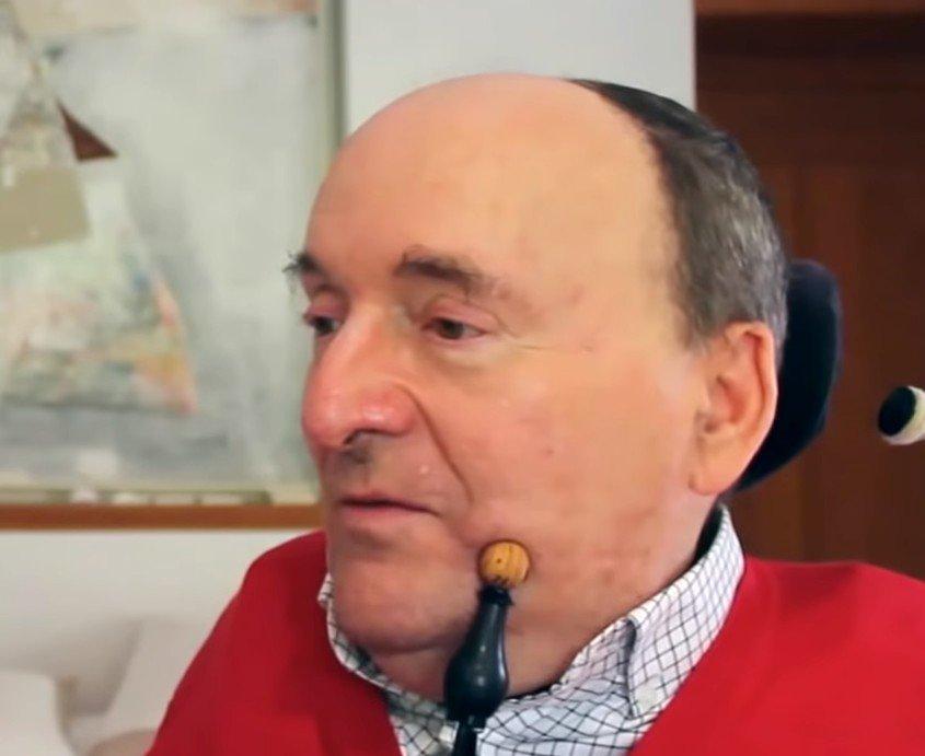 Philippe Pozzo di Borgo au cours d'une interview. l Source : YouTube/ Alliance VITA