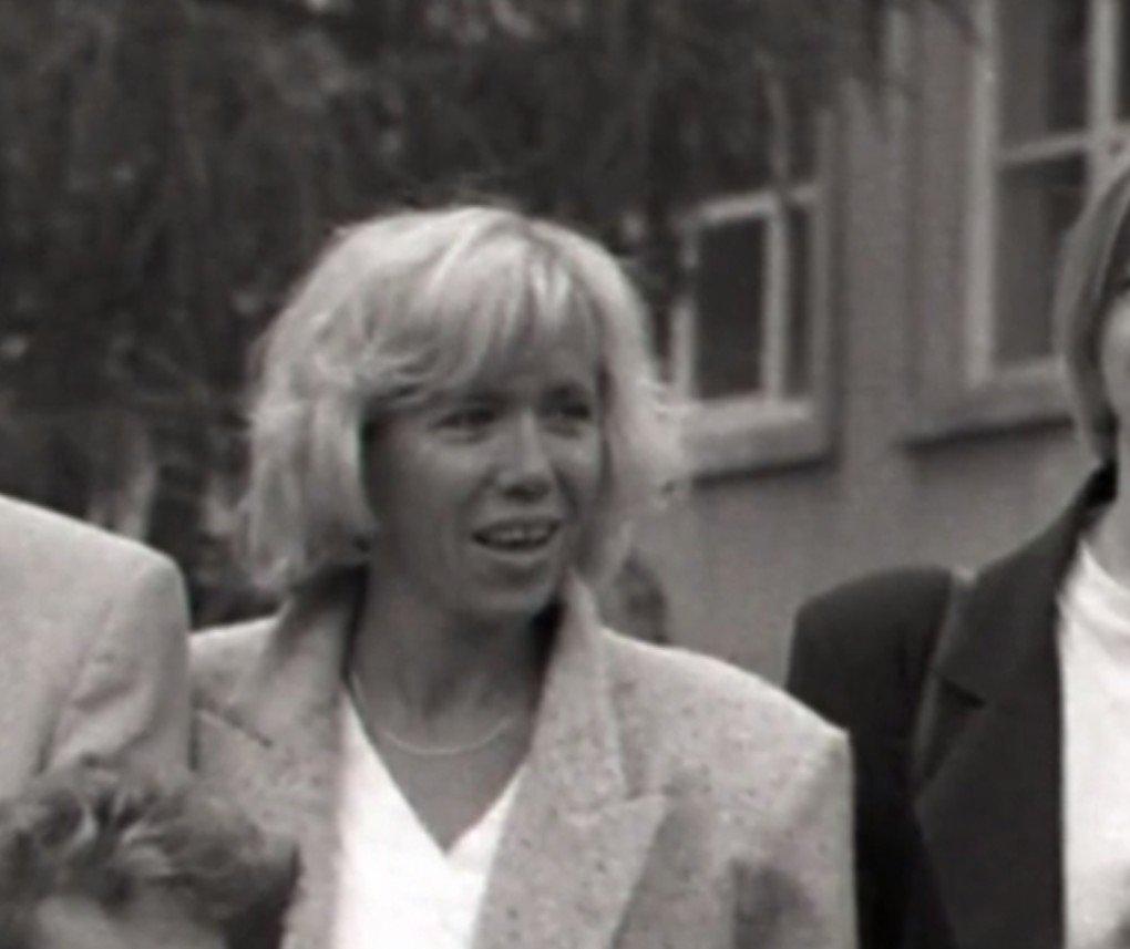Brigitte Macron lorsqu'elle était professeure de Français. l Source : Macron, la stratégie du Météore/France3