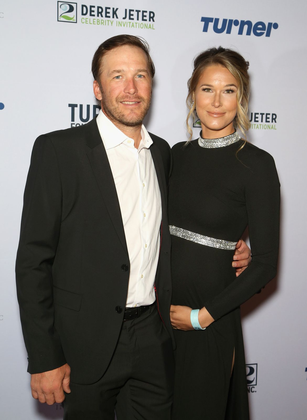 Bode Miller and his wife Morgan Beck, attend the 2018 Derek Jeter Celebrity Invitational gala at the Aria Resort & Casino on April 19, 2018 in Las Vegas, Nevada. | Photo: Getty Images.