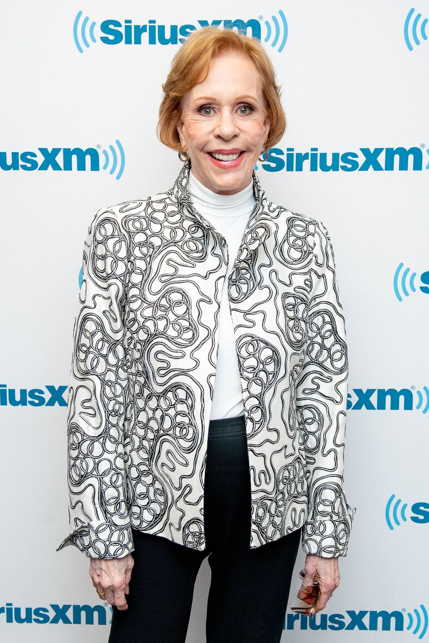 Carol Burnett at SiriusXM Studios on May 3, 2018 in New York City | Photo: Getty Images