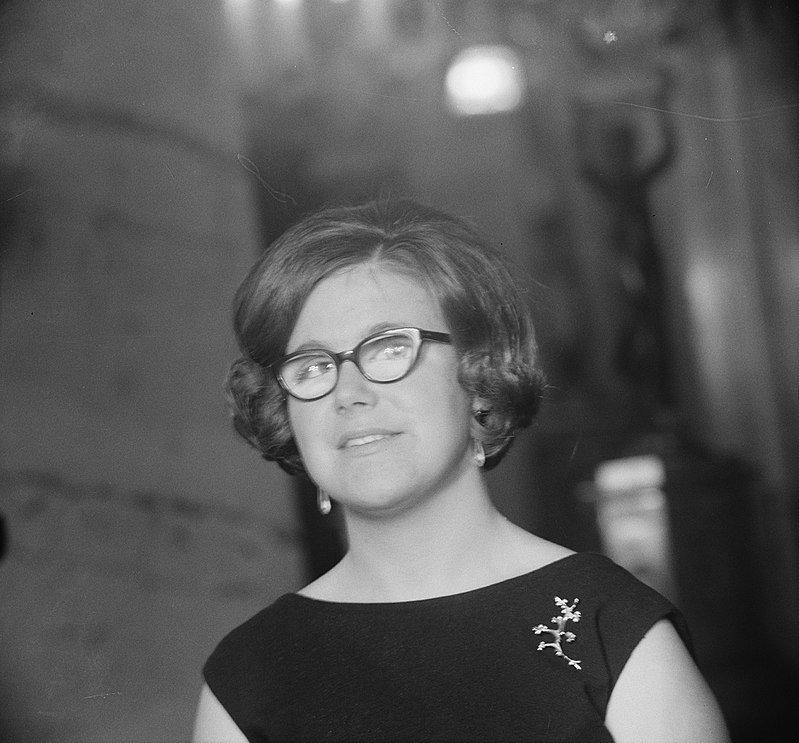 La photo de la princesse Christina le 18 février 1965, le jour de ses 18 ans | Source: Wikipedia
