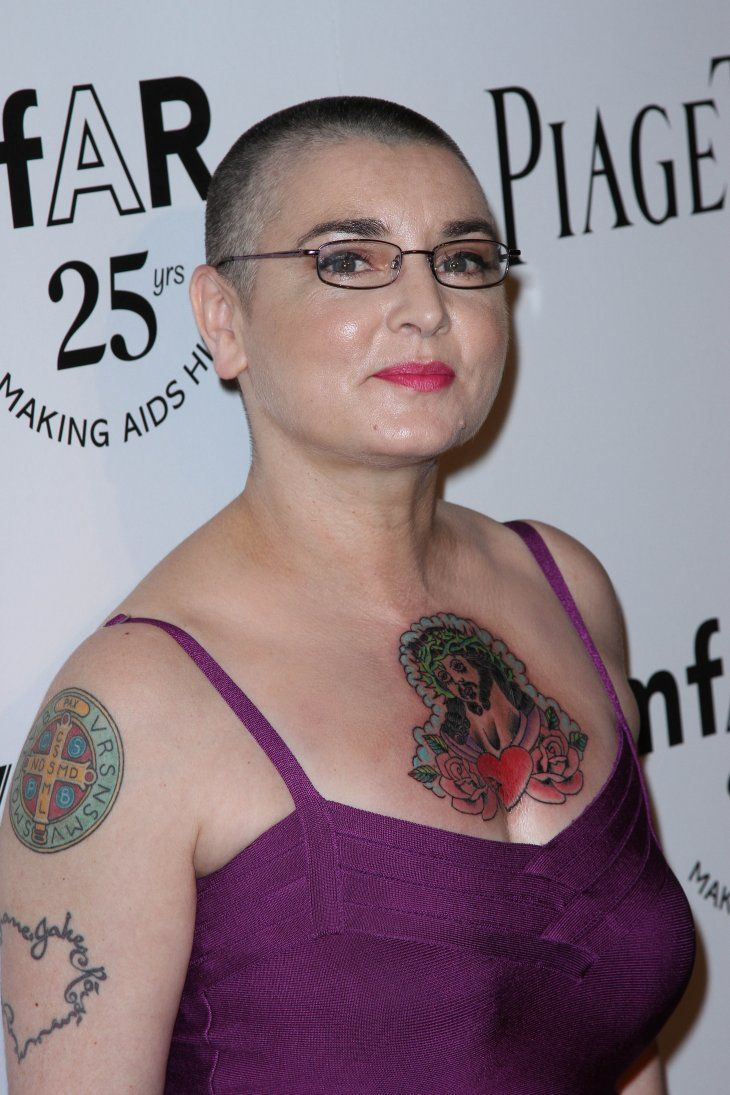 Sinead O'Connor at the amfAR Inspiration Gala at Chateau Marmont, West Hollywood on October 27, 2011 | Photo: Shutterstock/s_bukley