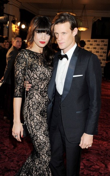 Daisy Lowe and Matt Smith arrive at The Royal Opera House on September 6, 2011 in London, England. | Photo: Getty Images