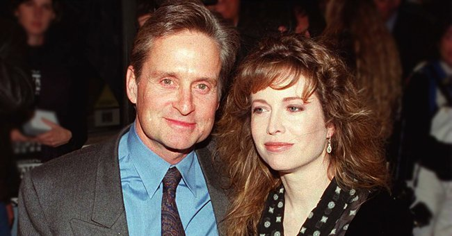 Photo of Michael Douglas and his ex-wife, Diandra | Photo: Getty Images