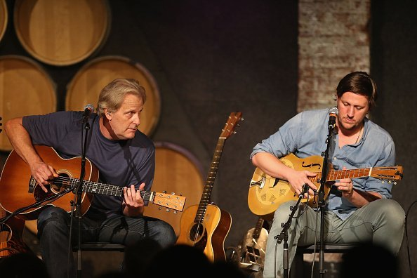 Jeff Daniels performs with his son, Ben Daniels, and the Ben Daniels Band at City Winery | Photo: Getty Images