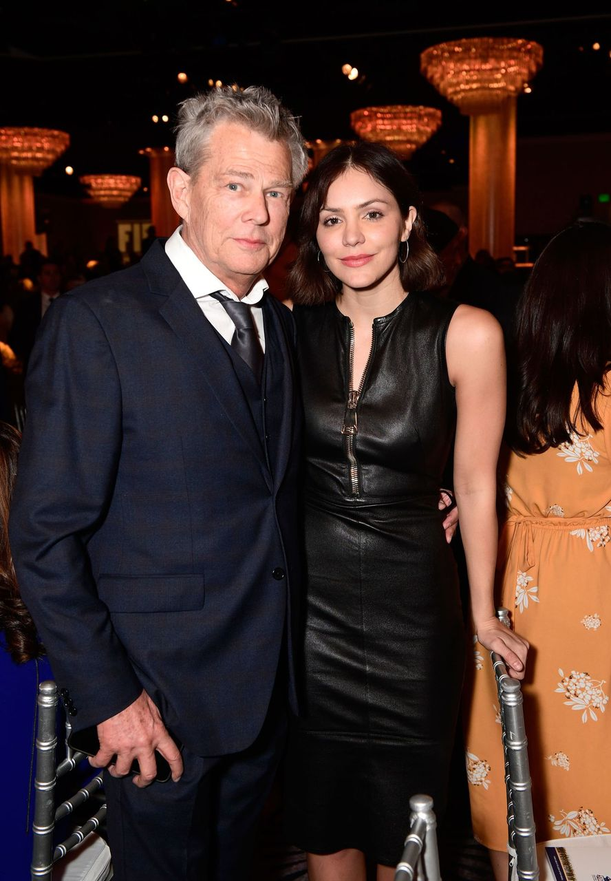 David Foster and Katharine McPhee during the Friends of The Israel Defense Forces (FIDF) Western Region Gala at The Beverly Hilton Hotel on November 1, 2018 in Beverly Hills, California. | Source: Getty Images