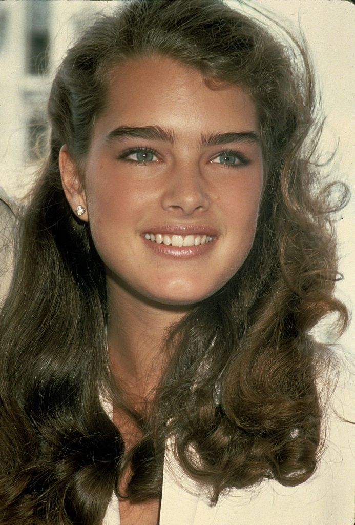 Brooke Shields circa 1981 in New York City.   Photo: Getty Images