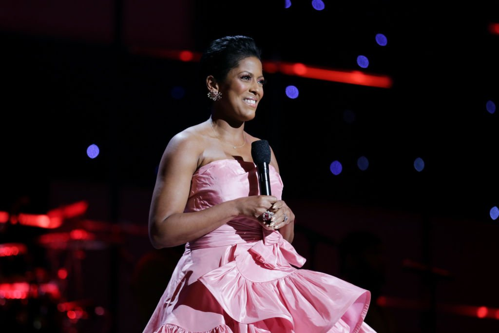 Tamron Hall speaks onstage during the 51st NAACP Image Awards | Photo: Getty Images