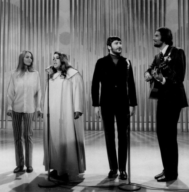The Mamas and the Papas performing on The Ed Sullivan Show in 1968 | Source: Wikimedia