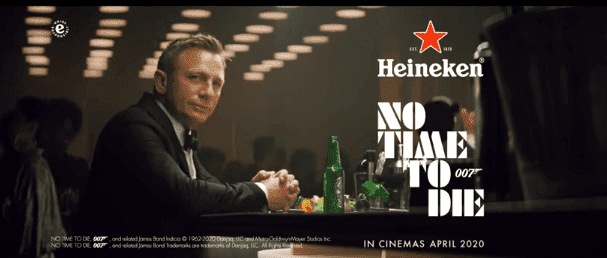 Daniel Craig in the new advert for Heineken released on January 14, 2020. | Source: YouTube/Heineken