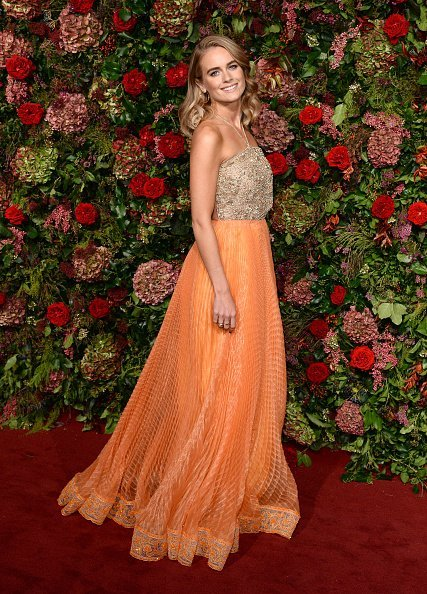 Cressida Bonas, Evening Standard Theatre Awards, London, 2018 | Quelle: Getty Images