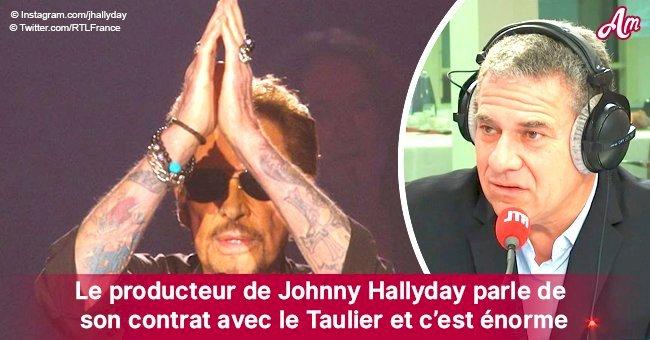 Le producteur de Johnny Hallyday dévoile l'immense contrat avec Taulier