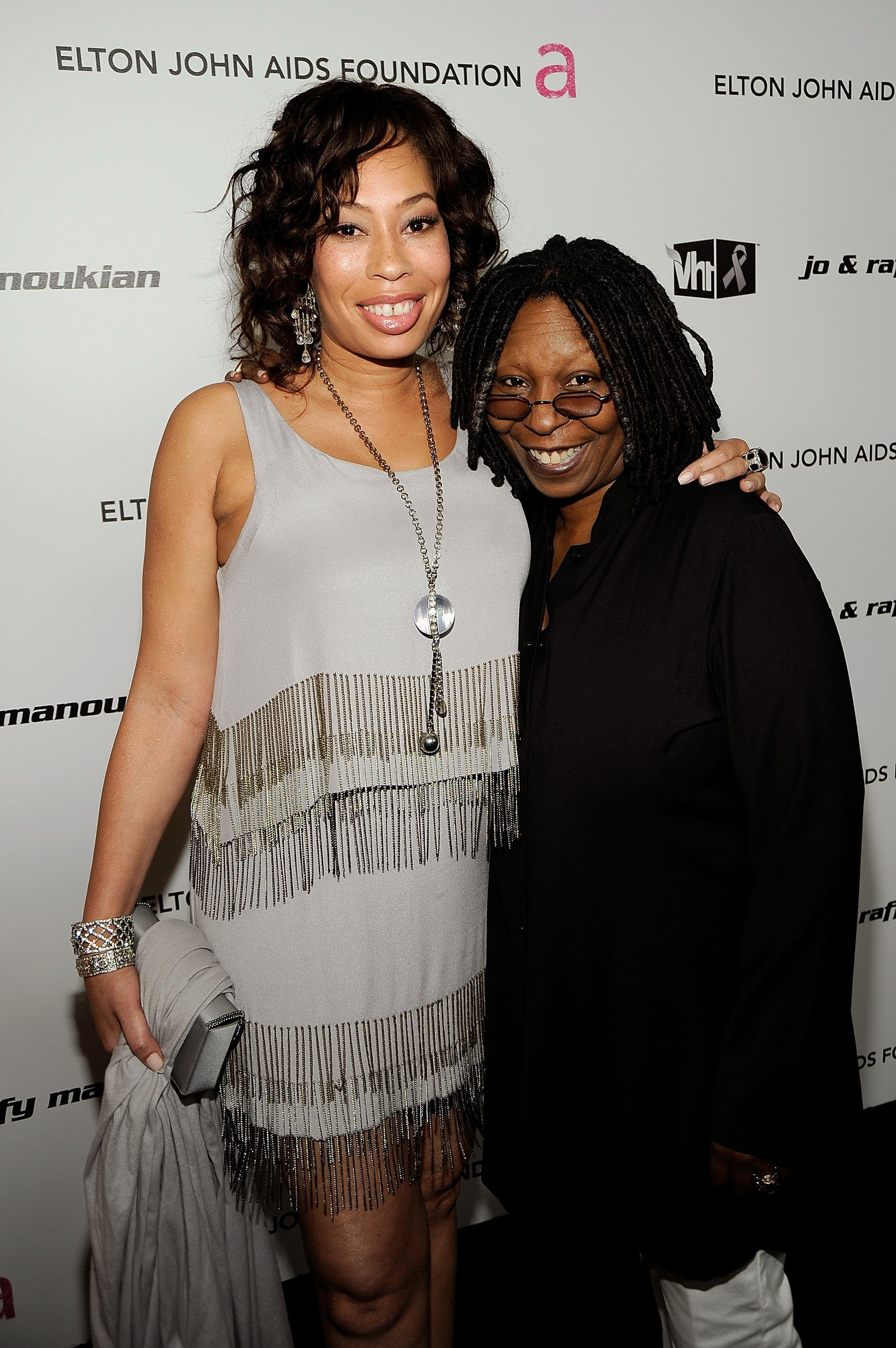 Whoopi Goldberg & Alex Martin at the 17th Annual Elton John AIDS Foundation Oscar Party in New York on Feb. 22, 2009. |Photo: Getty Images