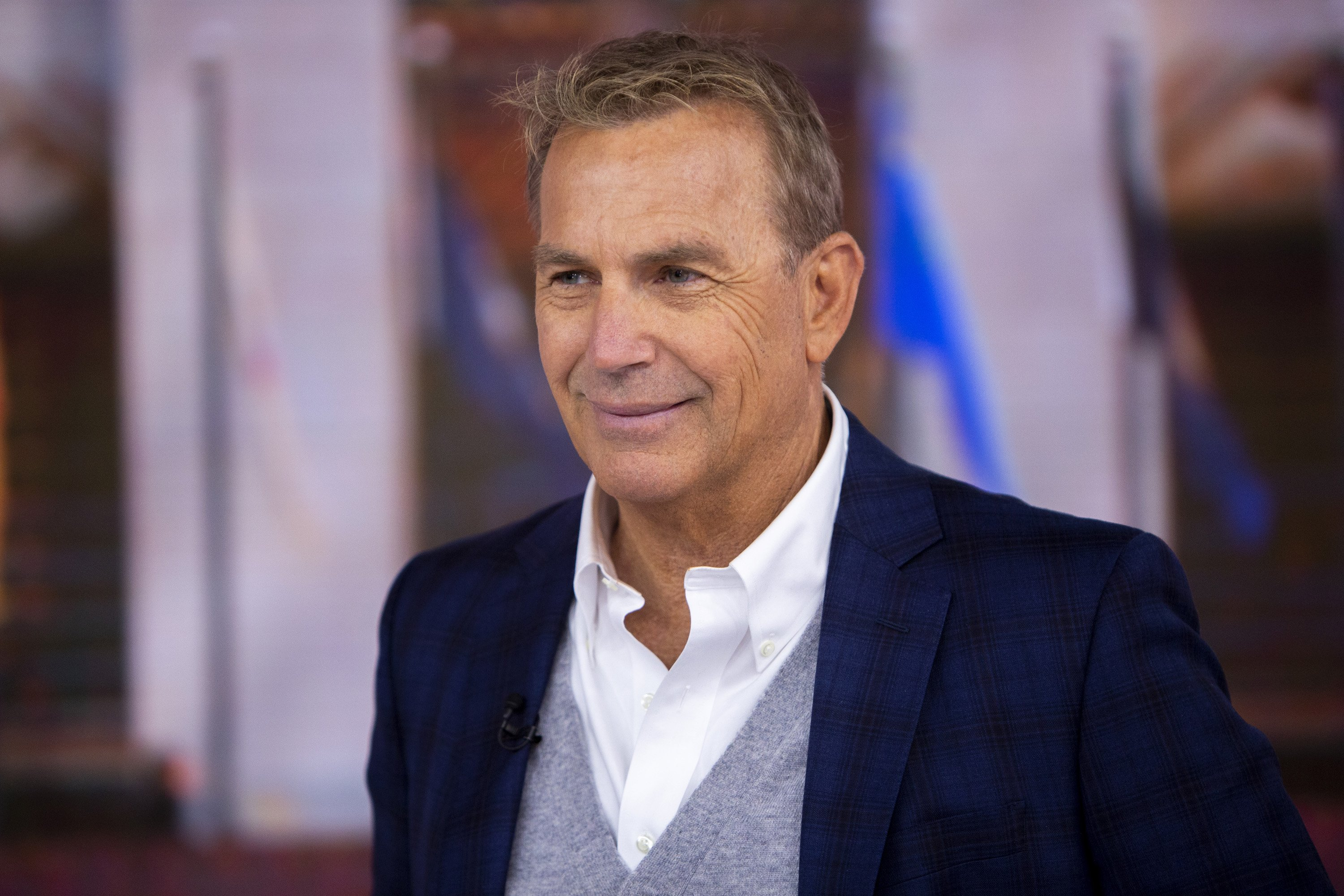 Kevin Costner pictured on Thursday, March 28, 2019. | Source: Getty Images.