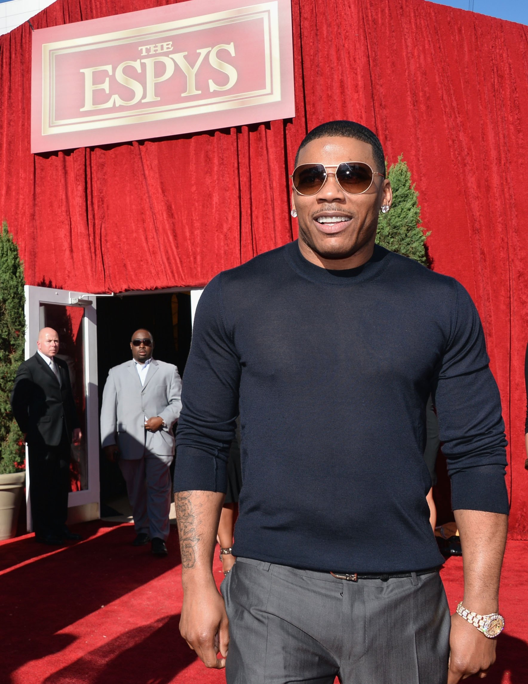 Cornell Nelly Haynes attends The 2013 ESPY Awards at Nokia Theatre L.A. Live on July 17, 2013 in Los Angeles, California | Photo: GettyImages
