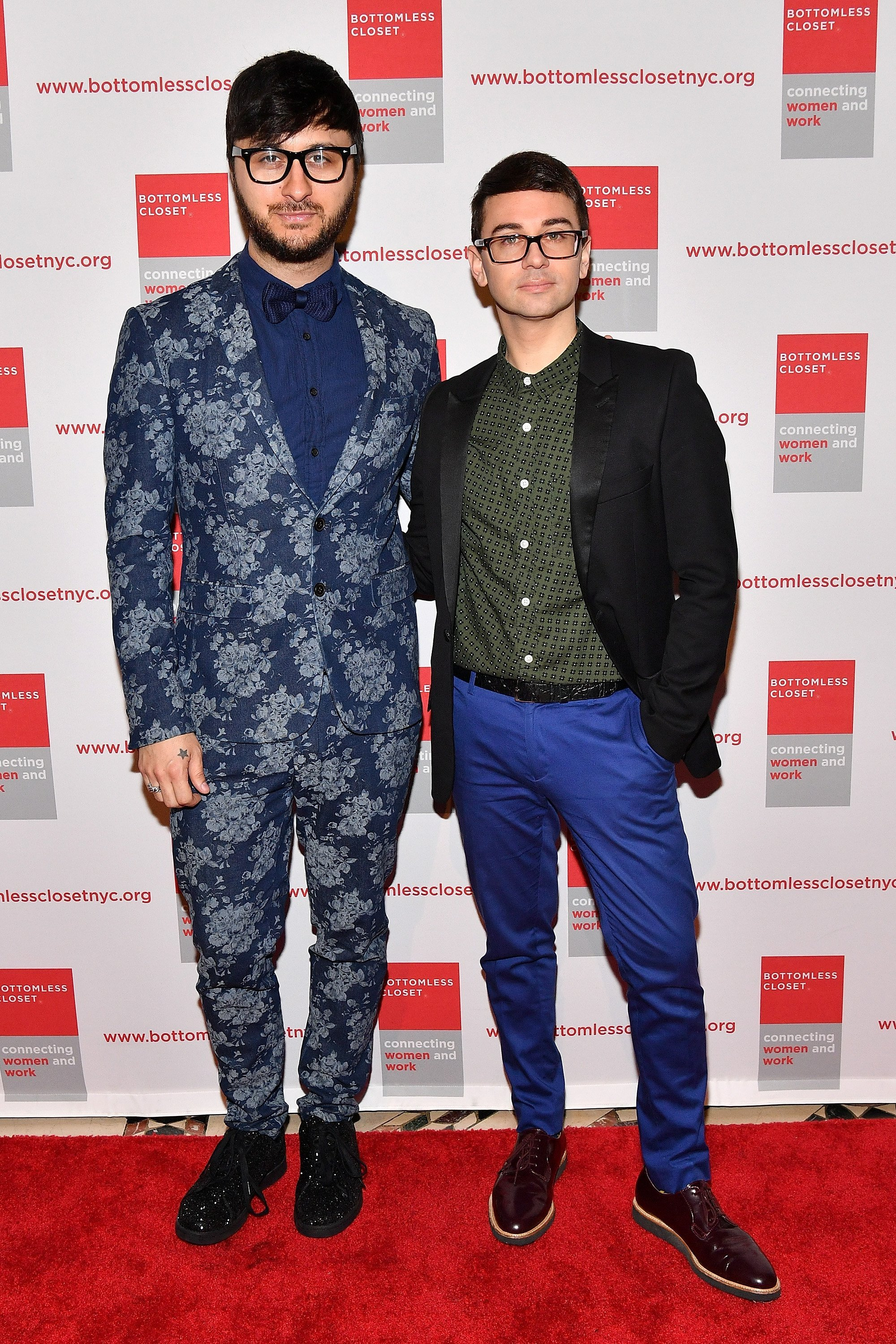 Brad Walsh and Christian Siriano attend the Bottomless Closet's 19th Annual Spring Luncheon on May 16, 2018, in New York City. | Source: Getty Images.
