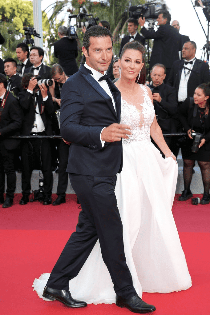 "Franck Sémonin et son épouse Hélène Sémonin assistent à la projection de ""Rocketman"" lors du 72ème Festival de Cannes le 16 mai 2019 à Cannes, France. 