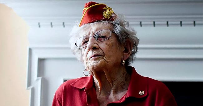 Oldest Living US Marine Celebrates 107th Birthday and Recalls Her Years of Service