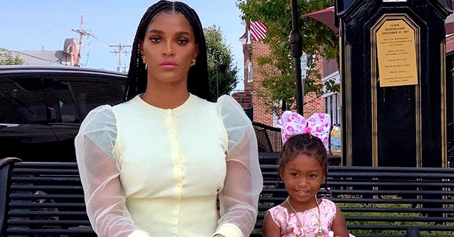 Joseline Hernandez from LHHATL Shares Adorable Pics of Daughter Bonnie Bella Posing in a Trendy Black & Grey Outfit